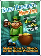 St Patricks Day Offer